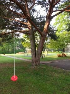 Baum mit Stammriss